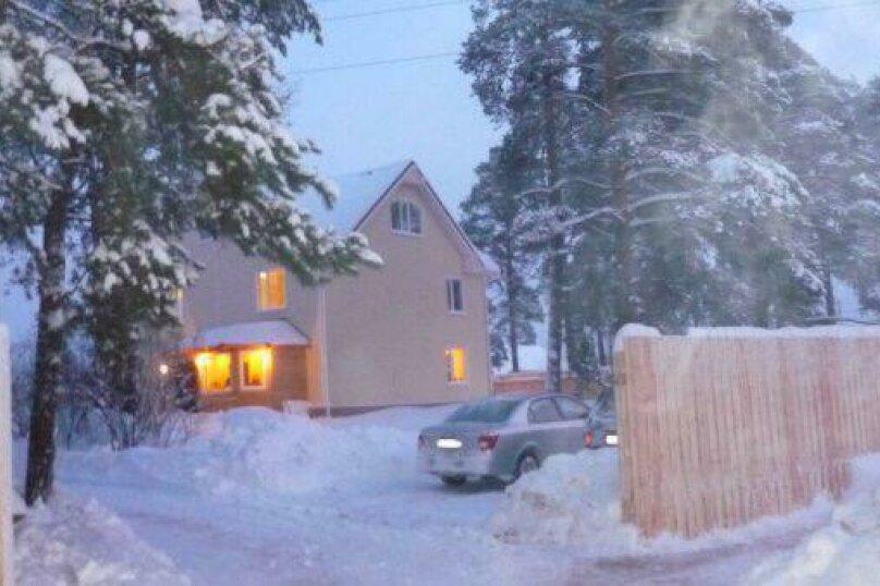Трёхэтажный коттедж, 300 кв.м. на 10 человек, 4 спальни, деревня Юшково, Новоладожская улица, 55А, Новая Ладога - Фотография 2