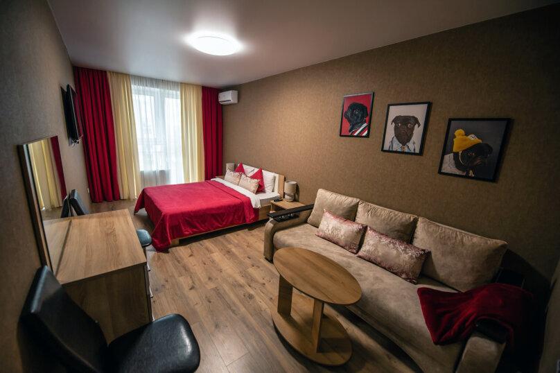 1-комн. квартира, 40 кв.м. на 4 человека, Зиповская улица, 34к1, Краснодар - Фотография 1