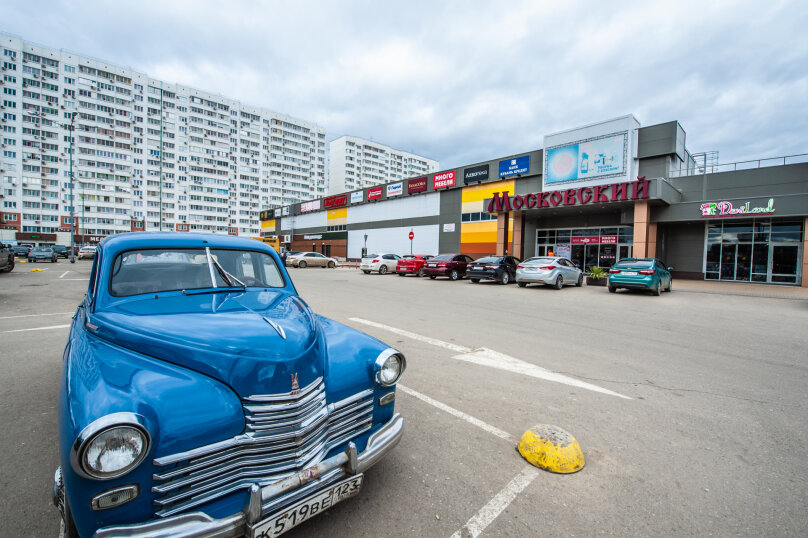 1-комн. квартира, 40 кв.м. на 4 человека, Зиповская улица, 34к1, Краснодар - Фотография 18