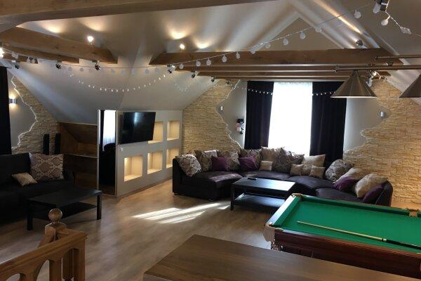 Трёхэтажный коттедж, 300 кв.м. на 10 человек, 4 спальни