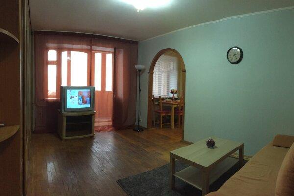 3-комн. квартира, 74 кв.м. на 6 человек, Полтавская улица, 47, Нижний Новгород - Фотография 1