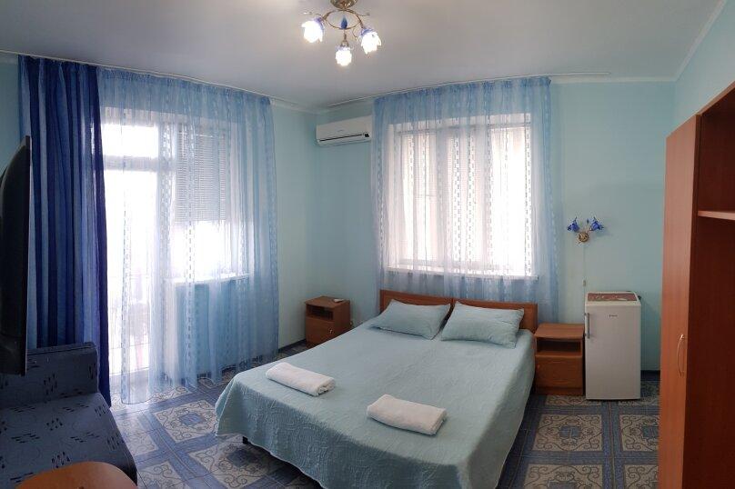 2-х местный стандарт улучшенный с доп местом , улица Морозова, 59, поселок Приморский, Феодосия - Фотография 1