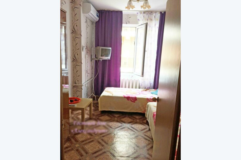 (22)Номер эконом-стандарт с кондиционером для 2х гостей , Лазурная улица, 12, Адлер - Фотография 1
