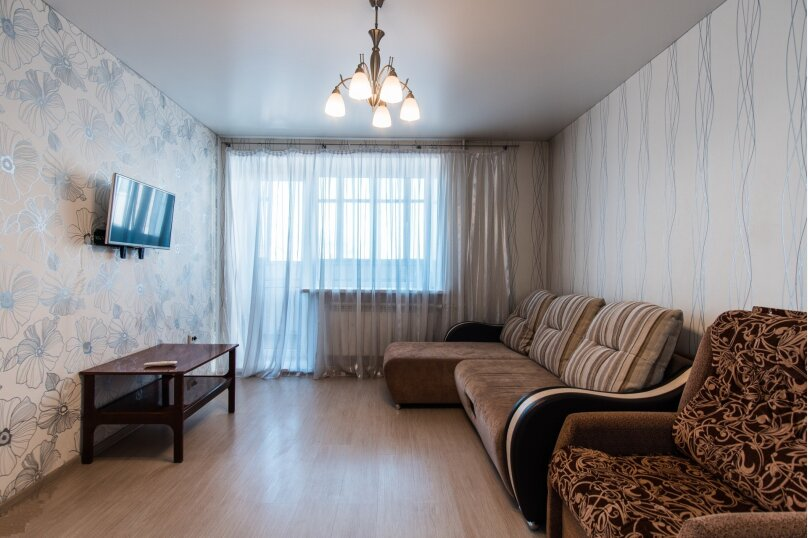 1-комн. квартира, 45 кв.м. на 3 человека, улица Крупской, 93, Барнаул - Фотография 2