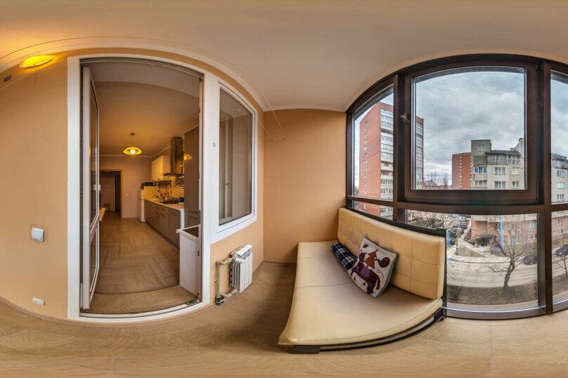 1-комн. квартира, 40 кв.м. на 2 человека, Малый переулок, 3, Калининград - Фотография 2