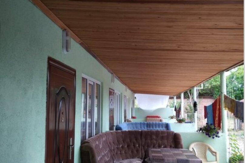 Комфорт 3-х местный, с тремя односпальными кроватями, Рыбзаводская, 42а, Пицунда - Фотография 1