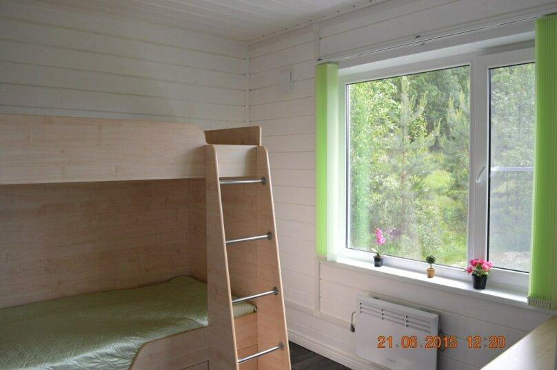 Дом, 40 кв.м. на 4 человека, 2 спальни, Шапнаволок, Солнечная, 1, Петрозаводск - Фотография 6