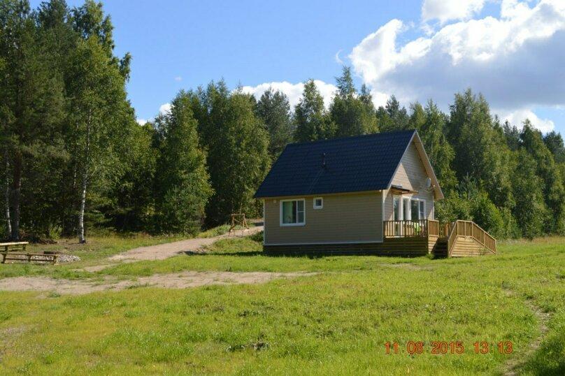 Дом, 40 кв.м. на 4 человека, 2 спальни, Шапнаволок, Солнечная, 1, Петрозаводск - Фотография 1