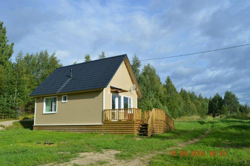 Дом, 40 кв.м. на 4 человека, 2 спальни, Шапнаволок, Солнечная, 1, Петрозаводск - Фотография 16