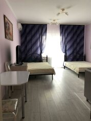 1-комн. квартира, 35 кв.м. на 4 человека, Портовая улица, 14, Джубга - Фотография 1