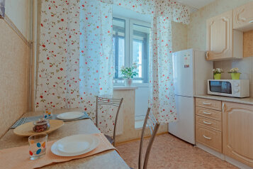 1-комн. квартира, 44 кв.м. на 3 человека, улица Фёдора Абрамова, 4, Санкт-Петербург - Фотография 1