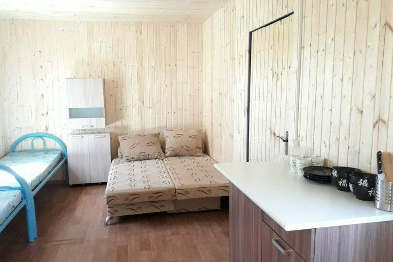 Домик летний на 4 чел с удобствами, 22 кв.м. на 4 человека, 1 спальня, Делегатская улица, 84А, Должанская - Фотография 1