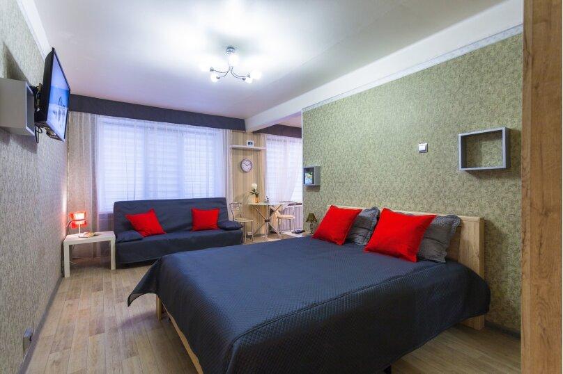 1-комн. квартира, 33 кв.м. на 4 человека, улица Орджоникидзе, 37к2, Санкт-Петербург - Фотография 8