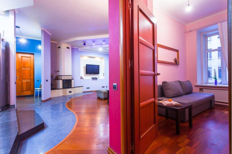 3-комн. квартира, 80 кв.м. на 8 человек, Басков переулок, 26, Санкт-Петербург - Фотография 22