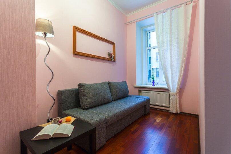 3-комн. квартира, 80 кв.м. на 8 человек, Басков переулок, 26, Санкт-Петербург - Фотография 23