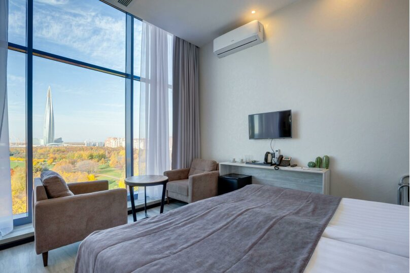 Comfort с двуспальной или двумя раздельными кроватями, Приморский проспект, 72А, Санкт-Петербург - Фотография 1