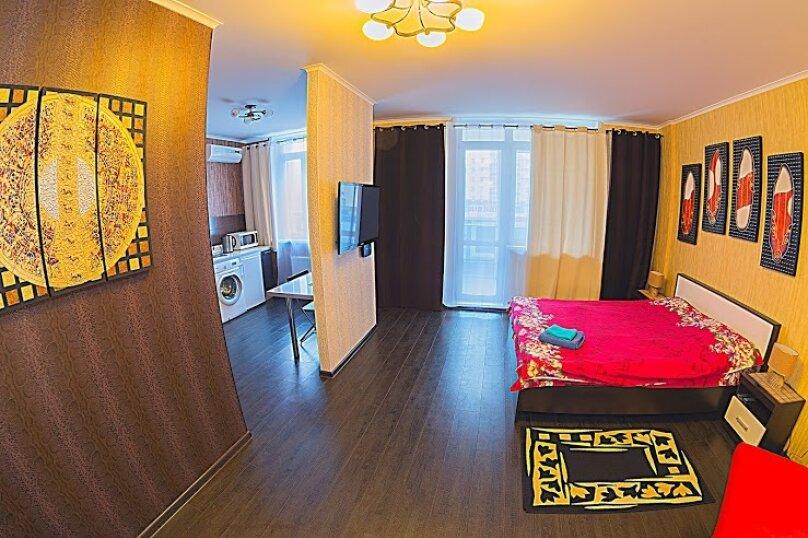 1-комн. квартира на 3 человека, улица Алексеева, 47, Красноярск - Фотография 1