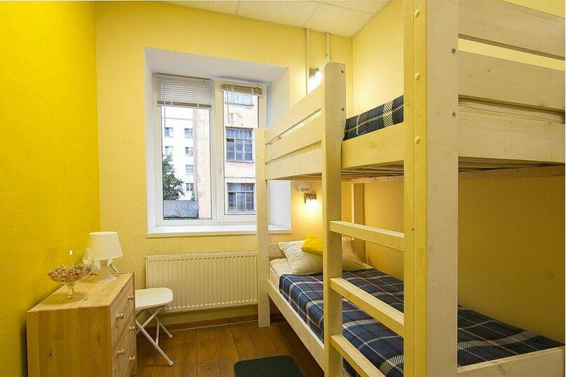 Четырёхместная женская комната, улица Черняховского, 24Г, Санкт-Петербург - Фотография 1