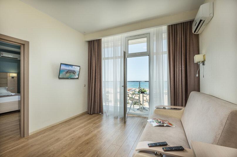 Люкс 2-х комнатный с видом на море, Южный проспект, 14, Витязево - Фотография 5