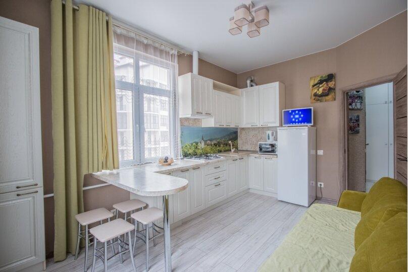 1-комн. квартира, 46 кв.м. на 3 человека, Крымская улица, 22к18, Геленджик - Фотография 9