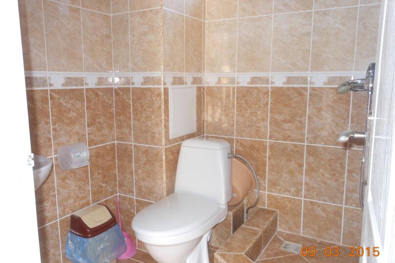 3-х местный номер (1) с тремя отдельными кроватями 1 этаж, Лесная улица, 18, Новофёдоровка, Саки - Фотография 5