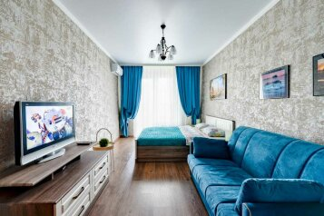 1-комн. квартира, 48 кв.м. на 4 человека, Старокубанская улица, 137к2, Краснодар - Фотография 1