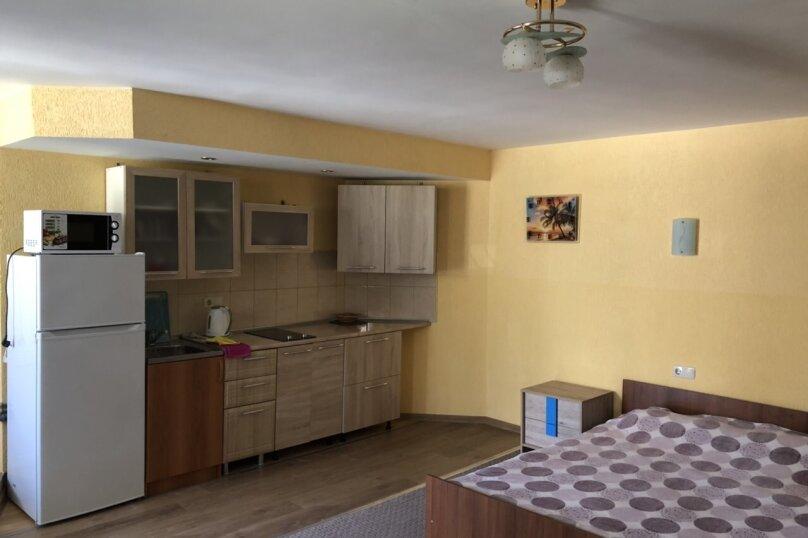 1-комн. квартира, 27 кв.м. на 4 человека, Долинный переулок, 15А, Коктебель - Фотография 1