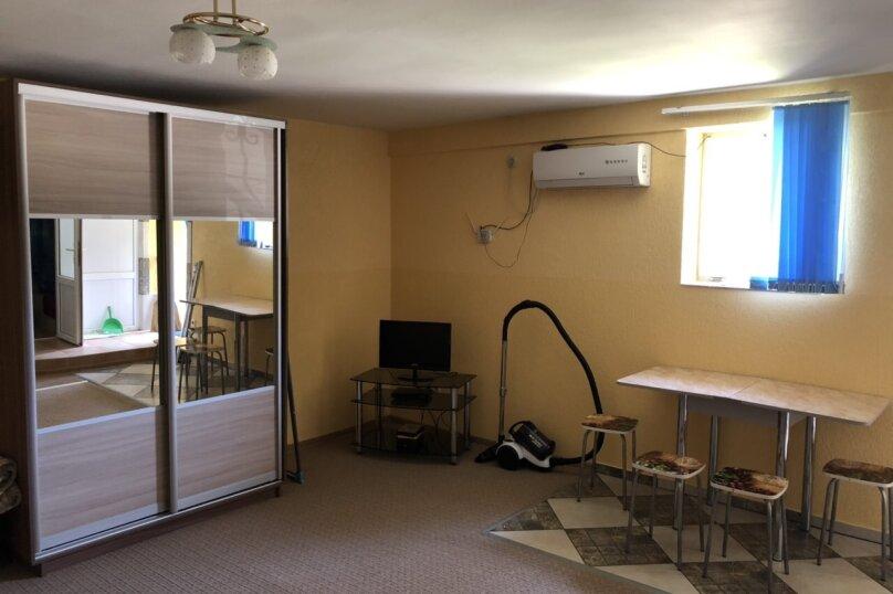 1-комн. квартира, 27 кв.м. на 4 человека, Долинный переулок, 15А, Коктебель - Фотография 8
