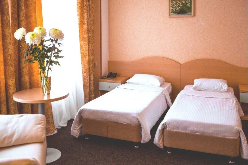 Standart без балкона (раздельные кровати), улица Пирогова, 36А/9, Новый Сочи, Сочи - Фотография 3