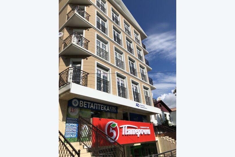 2-комн. квартира, 27 кв.м. на 4 человека, Демократическая улица, 45, Адлер - Фотография 11