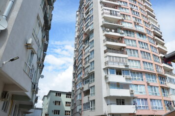 2-комн. квартира, 57 кв.м. на 6 человек, переулок Богдана Хмельницкого, Адлер - Фотография 2