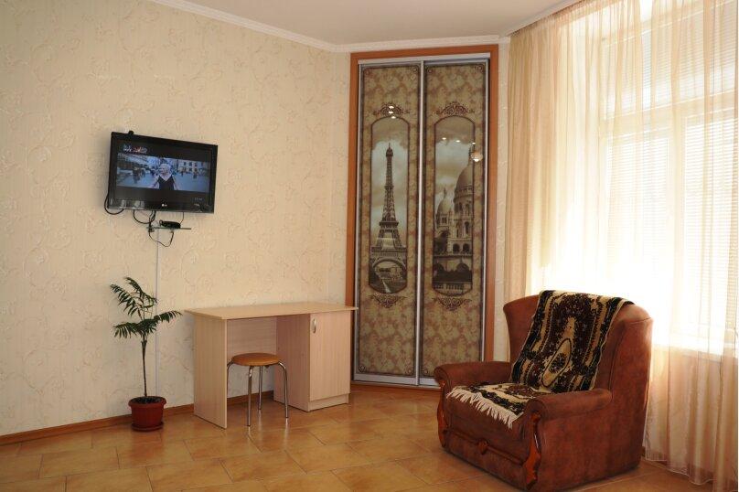 1-комн. квартира, 40 кв.м. на 3 человека, улица Ломоносова, 43, Ялта - Фотография 1