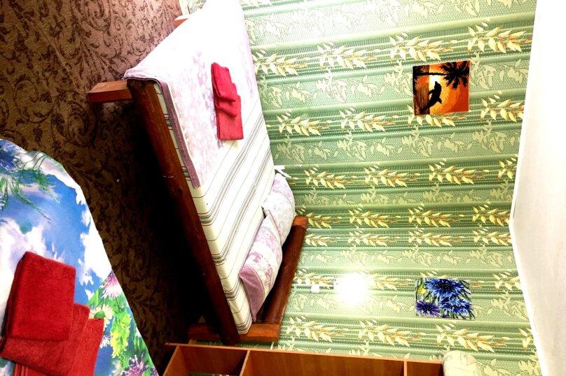 №6 - 3-х Местный номер стандарт с Балконом, с Кухней и с Видом на Море. 3 Этаж, Октябрьская улица, 35, Алушта - Фотография 1