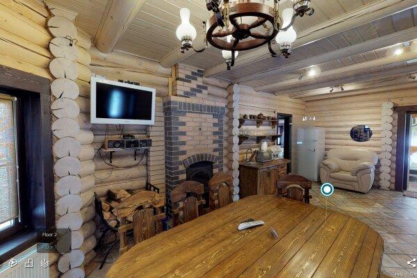 Дом с русской баней на дровах, 140 кв.м. на 8 че...