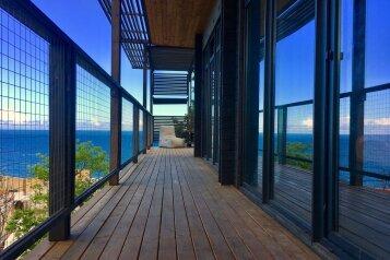 Дом у моря Крым Алушта, 100 кв.м. на 6 человек, 3 спальни, переулок Курортный, Алушта - Фотография 1