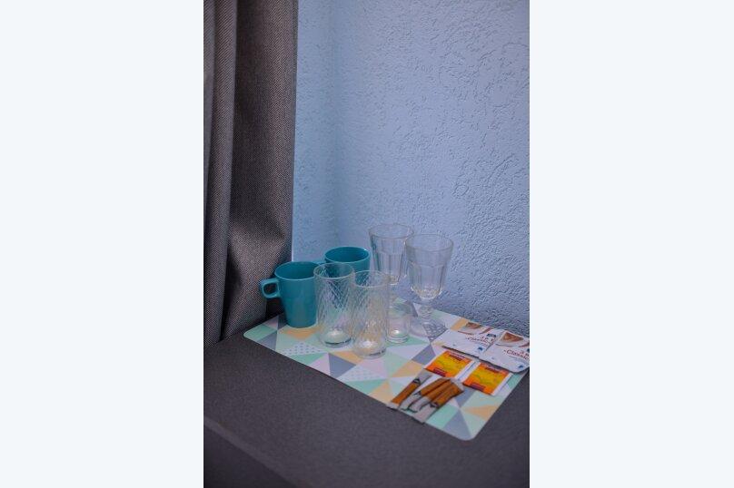 Полулюкс с двухспальной кроватью, балконом с видом на море S7, Гагариной, 25/16, Утес - Фотография 5