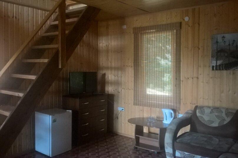 Семейный люкс двухэтажный с балконом, Лермонтовское участковое лесничество,  квартал 167А (ориентир - Курортная, 5), Лермонтово - Фотография 1