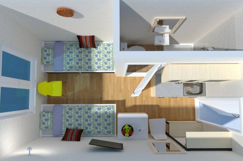 1-комн. квартира, 16 кв.м. на 2 человека, Метро Сокол, Маршала Вершинина, 3, Москва - Фотография 14