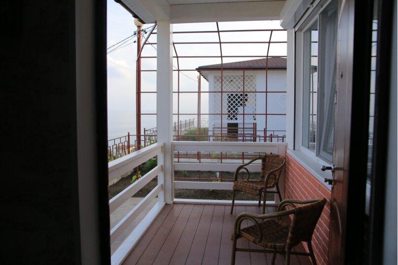 Домик для отпуска, 53 кв.м. на 6 человек, 2 спальни, Прибрежная улица 19 км Судакского шоссе, 24е, Сатера - Фотография 23