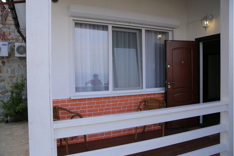 Домик для отпуска, 53 кв.м. на 6 человек, 2 спальни, Прибрежная улица 19 км Судакского шоссе, 24е, Сатера - Фотография 24