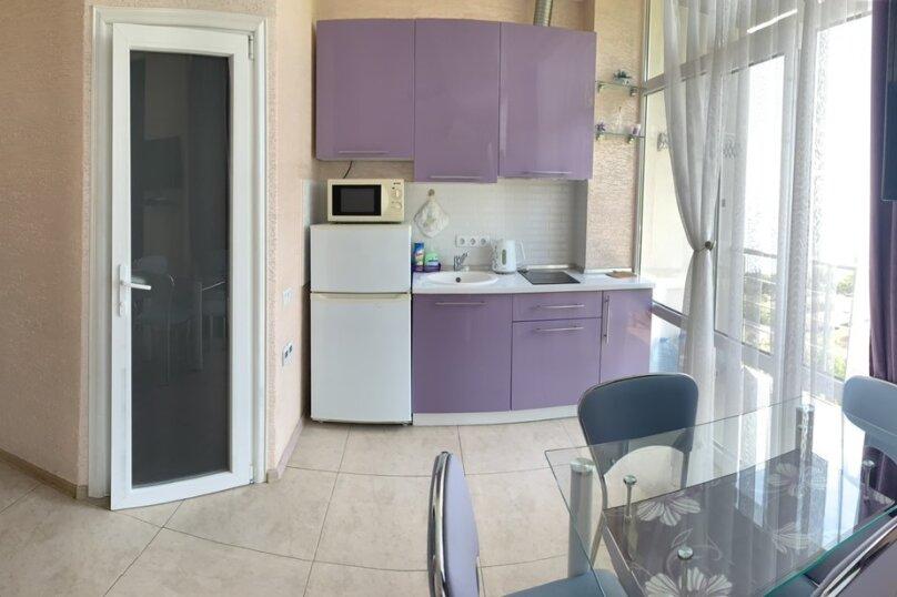 1-комн. квартира, 25 кв.м. на 3 человека, Лесная улица, 2в, Гаспра - Фотография 6