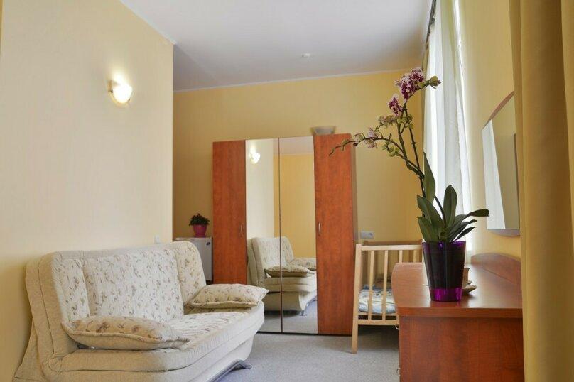 2-местный 1-комнатный полулюкс (с балконом), улица Ленина, 125С, Коктебель - Фотография 1