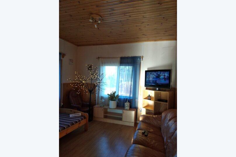 Дом, 120 кв.м. на 8 человек, 2 спальни, Куркиёки, Зелёная улица, 57, Лахденпохья - Фотография 5