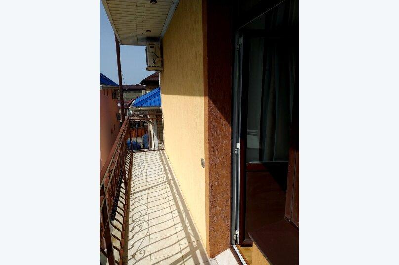 Двухместный номер с 1 кроватью и балконом, улица Шевченко, 202А, Анапа - Фотография 2