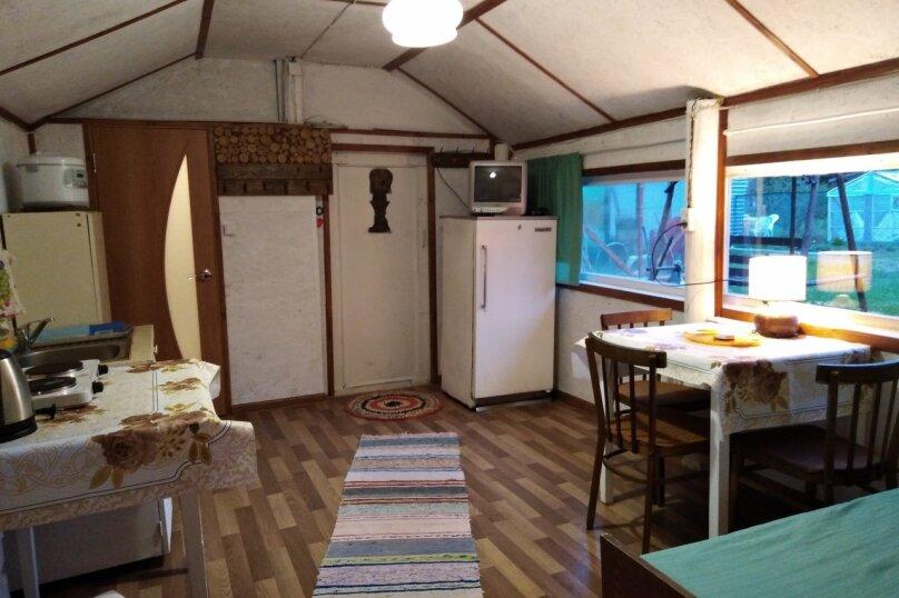 Дом, 25 кв.м. на 4 человека, 1 спальня, Речная улица, 15, посёлок Сяпся - Фотография 11