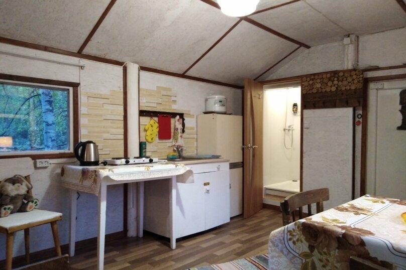Дом, 25 кв.м. на 4 человека, 1 спальня, Речная улица, 15, посёлок Сяпся - Фотография 12