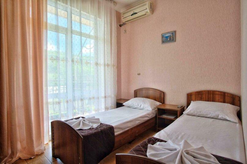 2-х местный комфорт с балконом, улица Кудряшова, 22, Лазаревское - Фотография 1