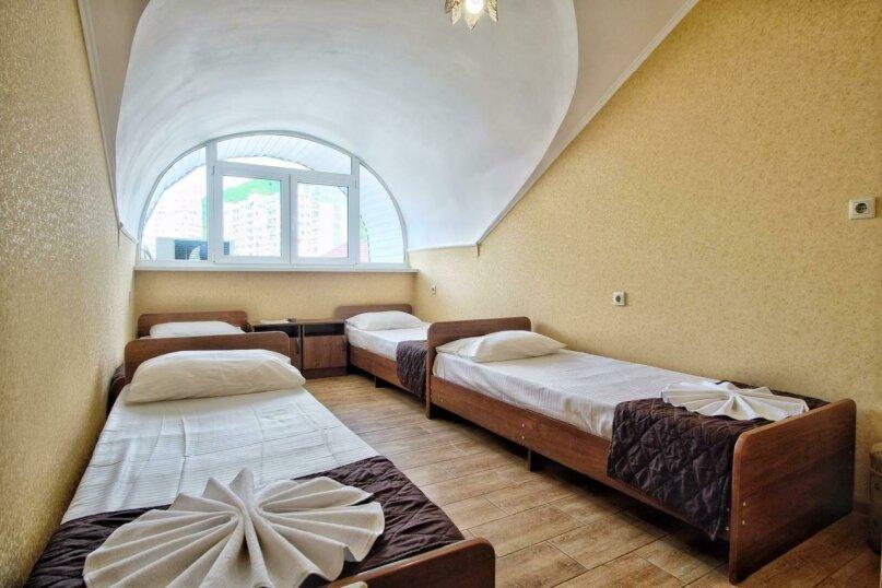 4-х местный комфорт с общим балконом на этаже, улица Кудряшова, 22, Лазаревское - Фотография 1