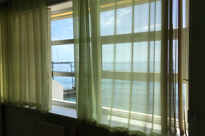 Апартаменты студио с кухней  с видом на море , Никитская набережная, 57/1, Никита, Ялта - Фотография 3