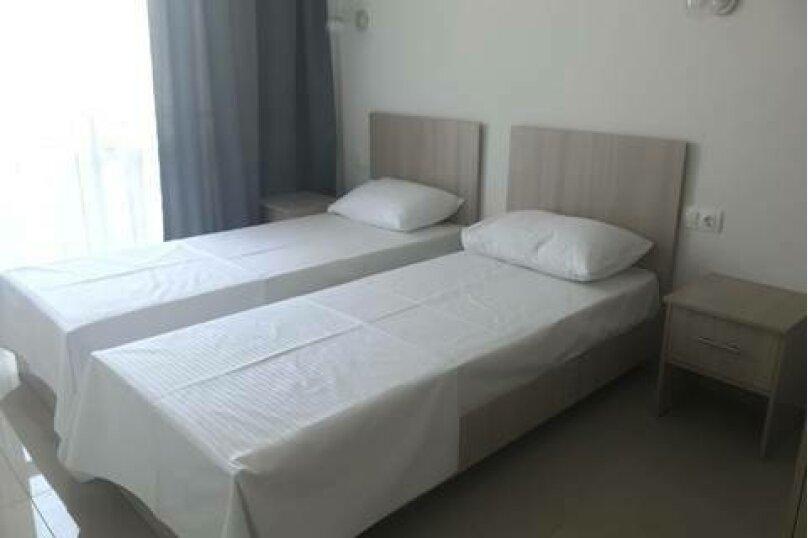 2-х местный «Стандарт» с раздельными кроватями, Революционная улица, 11А, Кабардинка - Фотография 1